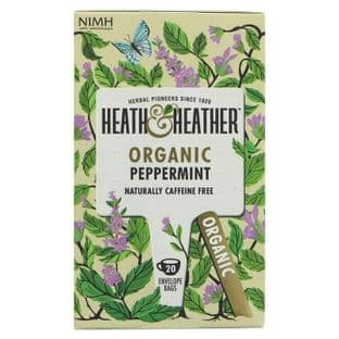 Heath And Heather Peppermint - Organic - 20 bags